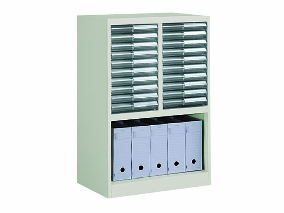コクヨ/書類整理庫 A4縦型 2列10段 ファイルボックス収納タイプ