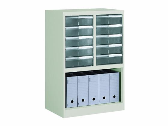 コクヨ/書類整理庫 B4縦型 2列5段 ファイルボックス収納タイプ