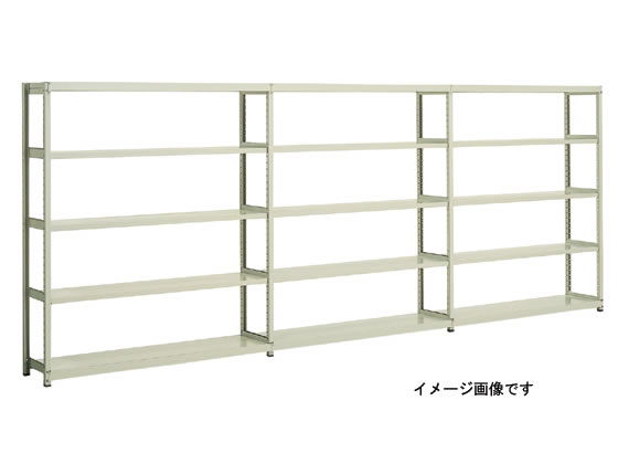 コクヨ/ノンボルト中量ラック 5段増連 W950×D600×H2430