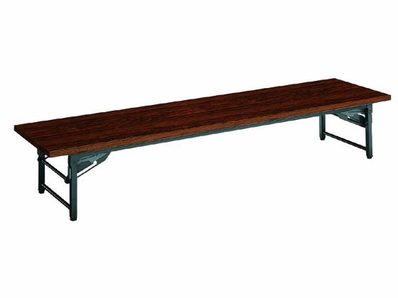 コクヨ/脚折りたたみ式テーブルKT-40 和机 W1800×D450ローズ
