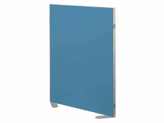 コクヨ/ホームパーティション 窓なし クロス張り W900×H1200 ブルー