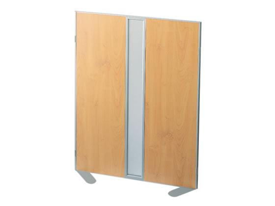 コクヨ/ホームパーティション 窓付き プリント紙 W900×H1500 木目