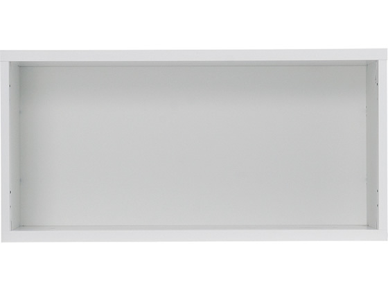 Garage/ストレージKK 白 上置き オープン1段 H396 白 H396 KK-8004【ココデカウ 上置き】, バースデー:f74b2a28 --- officewill.xsrv.jp