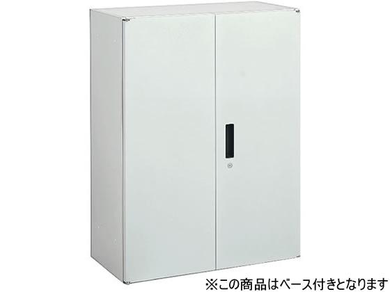 オカムラ/VILLAGE VS収納 両開き 下置き H1100 ホワイト