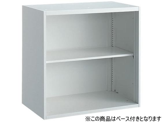オカムラ/VILLAGE VS収納 オープン 下置き H800 ホワイト
