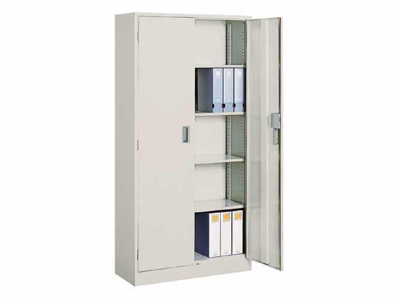 コクヨ/A4対応保管庫 両開き W880*H1850/S-370F1NN