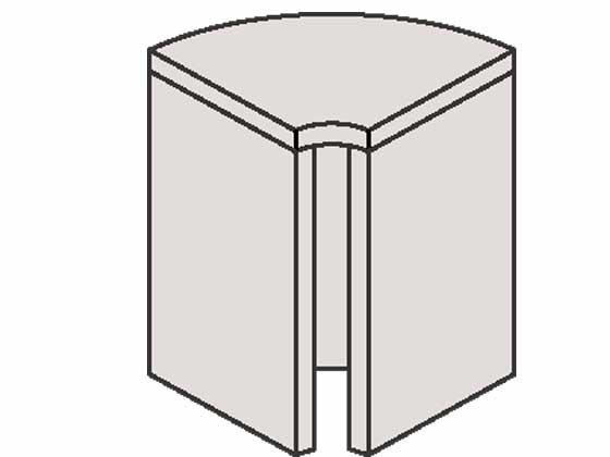 コクヨ/ユニット型LD2 内コーナー90° H960 ローカウンター 内コーナー90° H960 ナチュラルグレー, ラトックプレミア:c2698f68 --- officewill.xsrv.jp