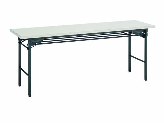 コクヨ/会議用テーブルKT-30 棚付き W1800×D450 ナチュラルグレー
