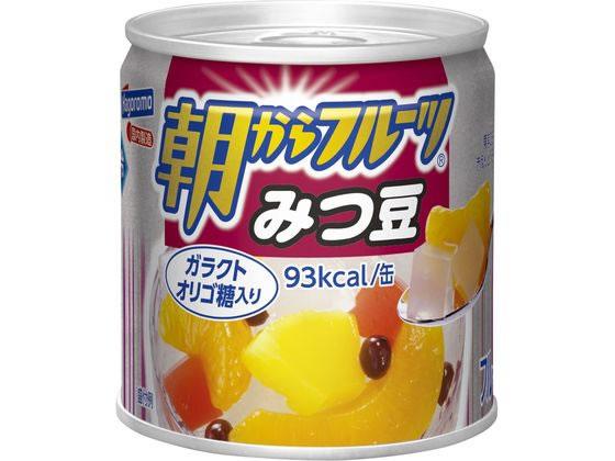 通販 税込3000円以上で送料無料 スーパーセール期間中ポイント5倍 はごろもフーズ 朝からフルーツみつ豆 190g 出群