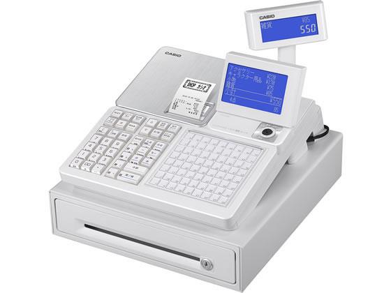 カシオ/電子レジスター 4部門 ホワイト/SR-C550-4SWE