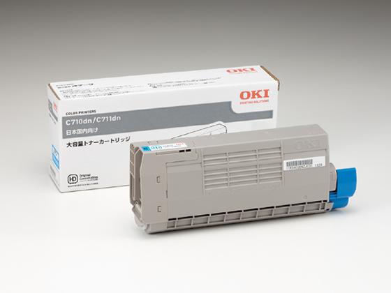 OKI/大容量トナーカートリッジ シアン 約11000枚/TNR-C4GC2