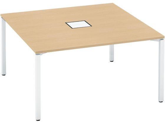 コクヨ/ワークフィット スタンダード両面 アジャスターW1400D1400 WHナチュラル, POODLE JAPAN:ffb84102 --- officewill.xsrv.jp