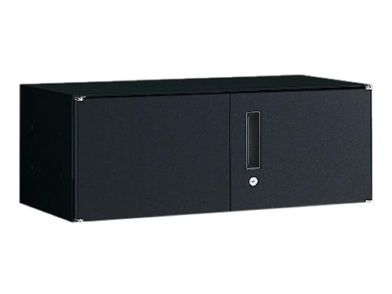 オカムラ/VILLAGE VS収納 両開き 上置き H300 ブラック