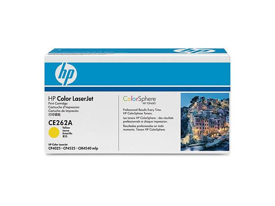 HP/プリントカートリッジ イエロー/CE262A