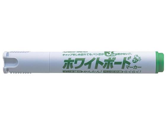 税込3000円以上で送料無料 シヤチハタ アートライン 潤芯ホワイトボードマーカー 爆買い送料無料 緑 K-527 贈答品 丸芯