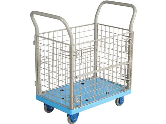 金沢車輌/環境静音樹脂台車 150kg荷重/NP-107GS