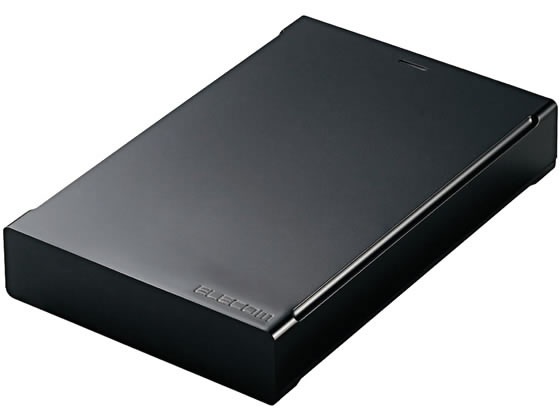 エレコム/USB3.0対応ポータブルハードディスク 2TB/ELP-CED020UBK