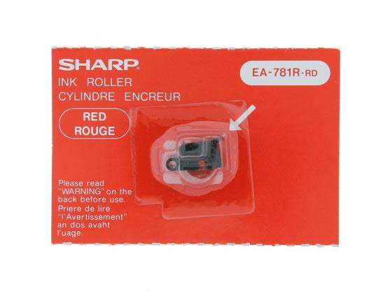 税込3000円以上で送料無料 全品送料無料 シャープ NROLR1044CC01 入手困難 EA781R-RDインキローラー電卓用 赤