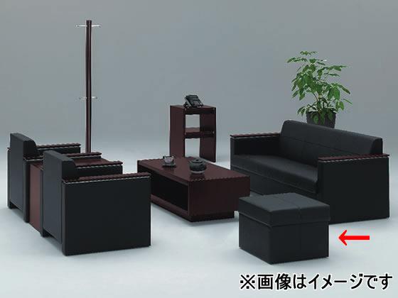 イトーキ/L20スツール ブラック/L20-61LN-BL【ココデカウ】