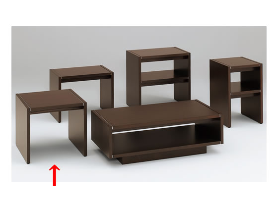 イトーキ/L20コーナーテーブル オークダークブラウン/L20-0665-51