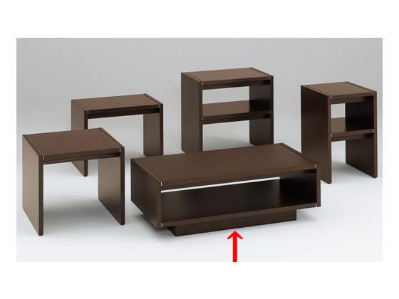 イトーキ/L20センターテーブル オークダークブラウン/L20-1264-51