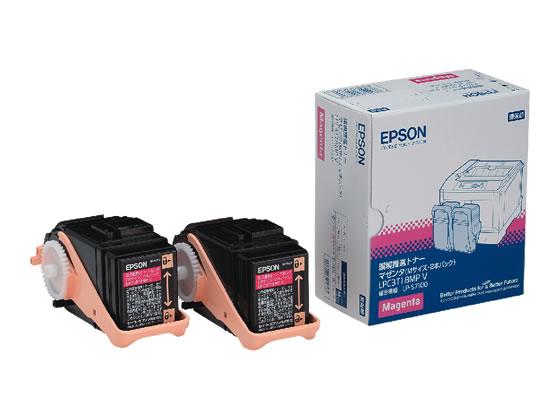 エプソン/環境推進トナー マゼンタ Mサイズ 2個入/LPC3T18MPV