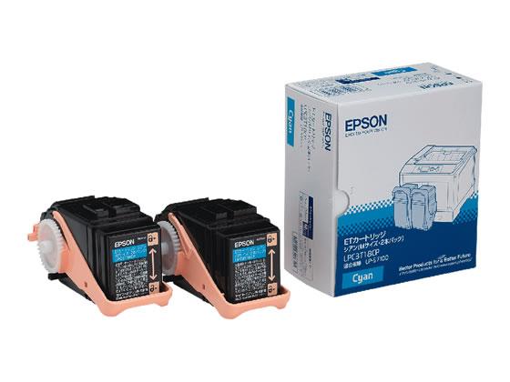エプソン/ETカートリッジ シアン Mサイズ 2個入/LPC3T18CP