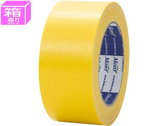 古藤工業/カラー布テープ 幅50mm*長さ25m 黄 30巻/NO890キイ