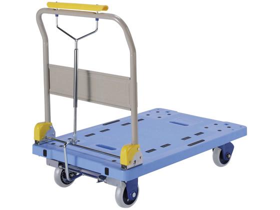 金沢車輌/微音樹脂ハンドブレーキ台車 300kg荷重/PHB-300GS