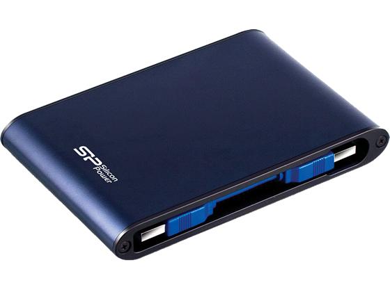 シリコンパワー/防水ポータブルHDD500GB/SP500GBPHDA80S3B