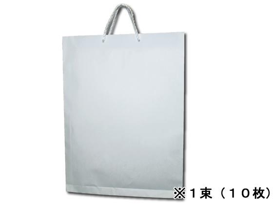 超特価 送料無料 うずまき 額縁入れ手提げバッグA3 ベ584 白 10枚 トレンド