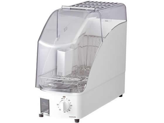 コイズミ/食器乾燥器 スリムタイプ 1~2人用 ホワイト/KDE0500W