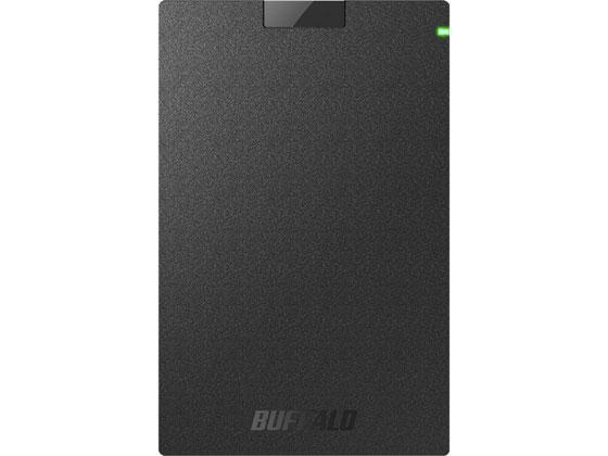 バッファロー/ポータブルHDD 1TB ブラック/HD-PCG1.0U3-BBA