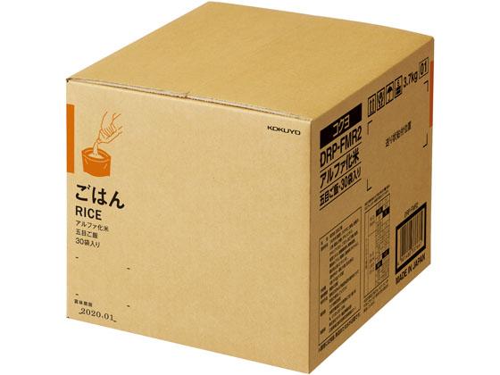コクヨ/PARTS-FIT アルファ化米 五目ご飯 30袋入/DRP-FMR2