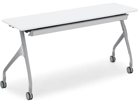 コクヨ/会議用テーブル エピファイ パネル無 W1800×D600 ホワイト