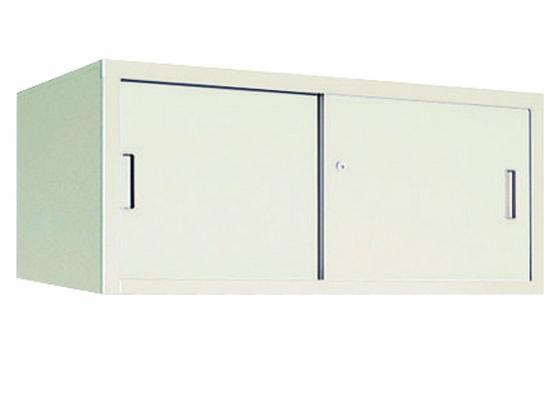 コクヨ/保管庫深型 上置き 引違い戸 W880*D515*H400
