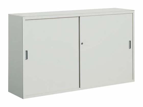 コクヨ/保管庫浅型 上置き 引違い戸 W1500*D400*H880