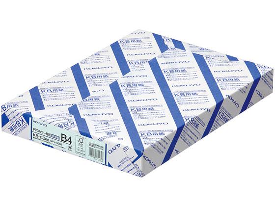 コクヨ/PPCカラー用紙 共用紙 B4 500枚 青 5冊/KB-C34B