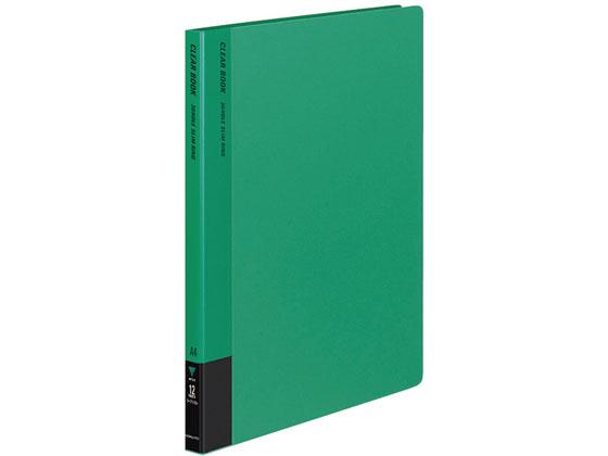 コクヨ/クリアファイル 替紙式 A4 30穴 40枚 緑 10冊/ラ-710G