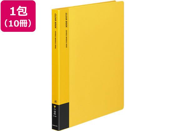 コクヨ/クリアファイル 替紙式 A4 30穴 60枚 黄 10冊/ラ-720Y