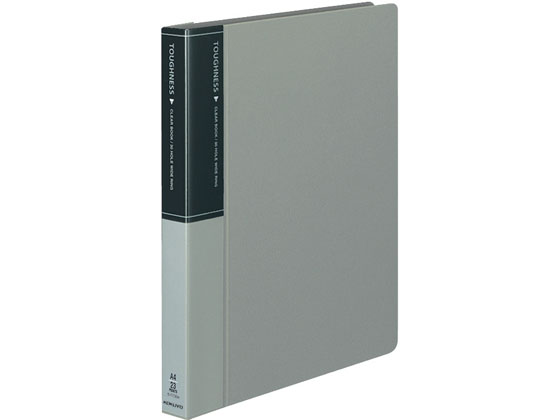 コクヨ/クリヤーブック タフネス 替紙式A4縦30穴 灰 10冊/ラ-F730M