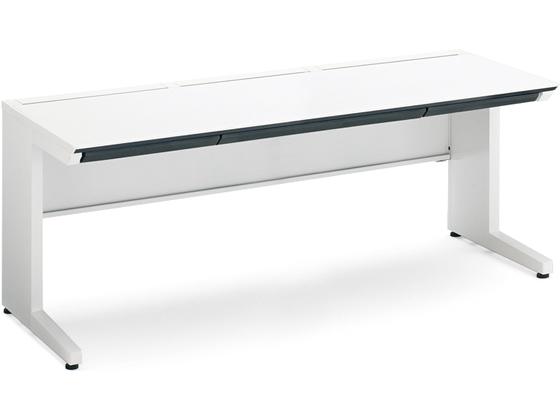 コクヨ/iSスタンダードテーブル(センター引出付)W1500×D700 ホワイト