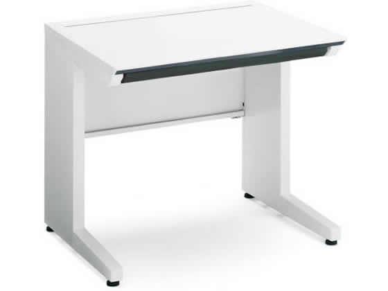 コクヨ/iSスタンダードテーブル(センター引出付)W800×D700 ホワイト