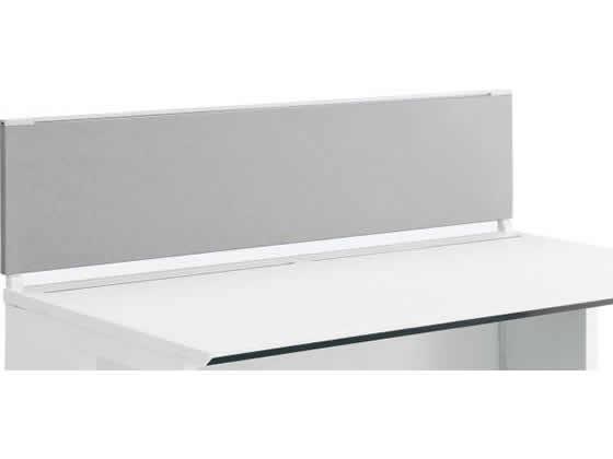 コクヨ/iSデスクトップパネル(フロントタイプ)W1200×H350 ホワイトグレー
