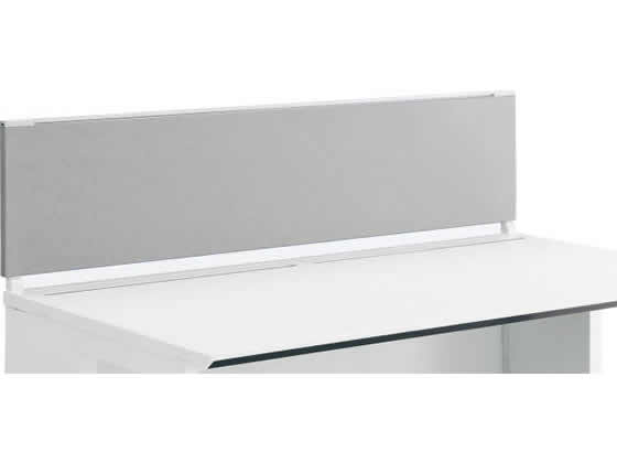 コクヨ/iSデスクトップパネル(フロントタイプ)W1400×H350 ホワイトグレー