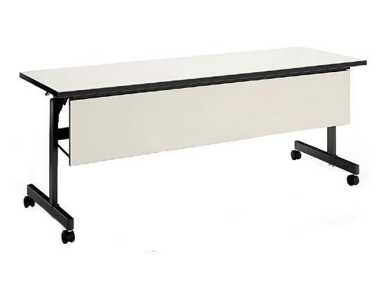 コクヨ/会議用テーブルKT-60 パネル付 W1800*D600 ナチュラルグレー