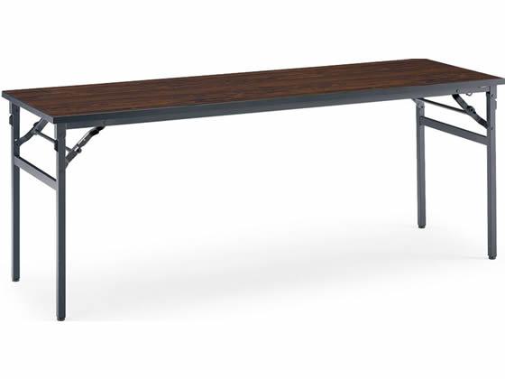 コクヨ/会議用テーブルKT-N120 棚なし W1800*D450ローズウッド