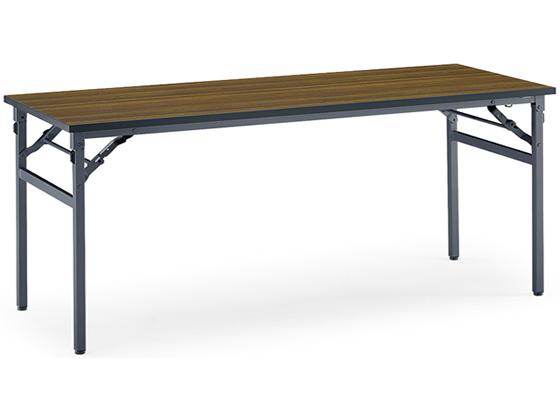 コクヨ/会議用テーブルKT-N120 棚なし W1800*D450チーク