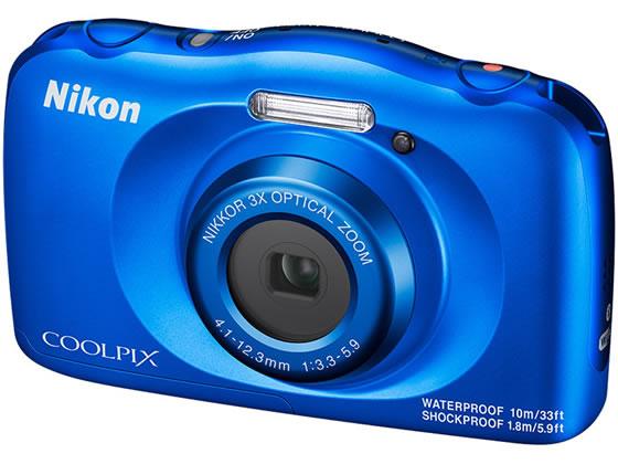 ニコン/防水・耐衝撃デジタルカメラ COOLPIX W150 ブルー/W150BL