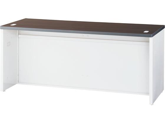 生興/NSローカウンター W1600 ウォールナット×ホワイト